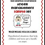 Anger Management Free Printable: Problem Solving   The Helpful Counselor   Free Printable Anger Management Activities
