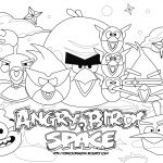 Angry Birds Color Pages Coloring Pages | Coloring Pages   Free Printable Angry Birds Space Coloring Pages