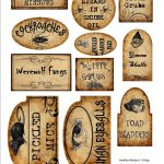 Apothecary Jar Labels For Download … | Holiday | Halloween   Free Printable Halloween Bottle Labels