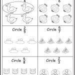 Assessment   Color The Fractions Worksheets | Fractions | Fractions   Free Printable First Grade Fraction Worksheets