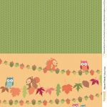 Autumn Friends Free Printables From Papercraft Inspirations Issue   Free Printable Fall Scrapbook Paper