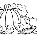 Autumn Harvest Coloring Page | Free Printable Coloring Pages   Fall Printable Coloring Pages Free
