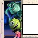 Awesome Best Free Printable Monsters Inc Birthday Invitations Idea   Free Printable Monsters Inc Birthday Invitations