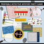 Awesome Diy Spy Party Games And Secret Agent Themed Activities That   Free Printable Escape Room Kit Pdf