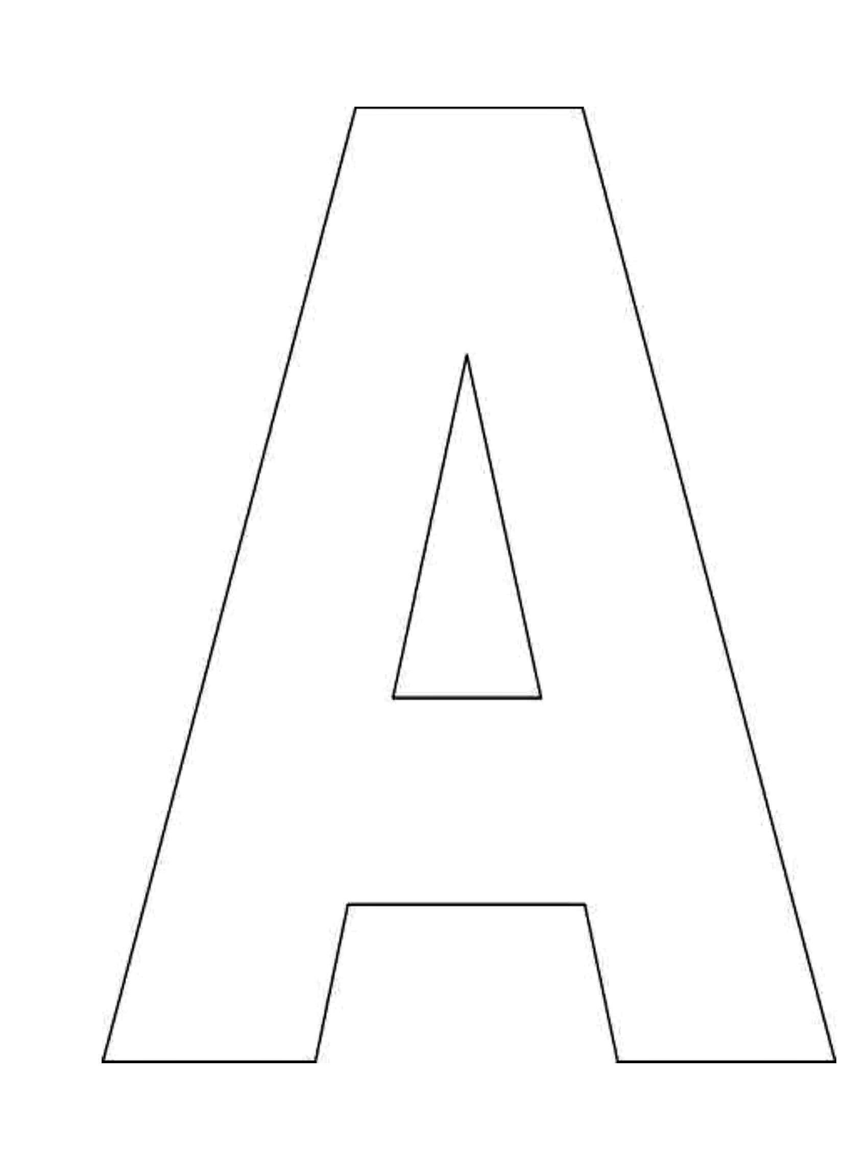 Awesome Free Printable Alphabet Letters Stencils | Www.pantry-Magic - Template Letters Of The Alphabet For Free Printable