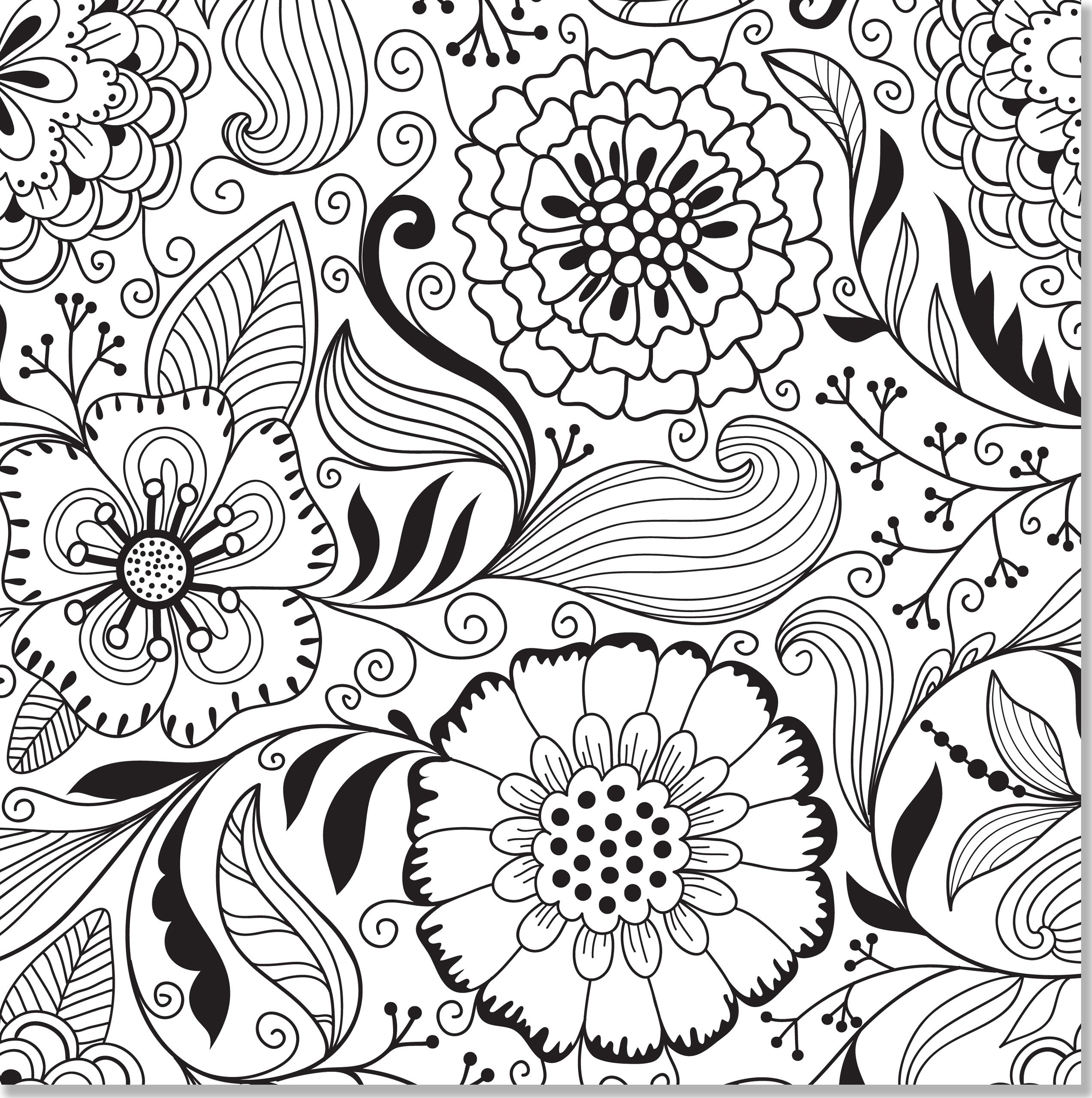 Awesome Free Printable Coloring Book Pages For Adults | Coloring Pages - Free Printable Coloring Designs For Adults