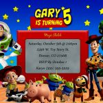 Awesome Toy Story Birthday Invitations Template Free Free Printable   Free Printable Toy Story 3 Birthday Invitations