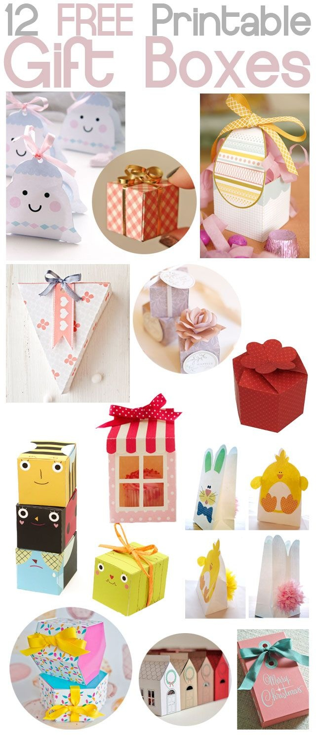 B E A N I P E T: Diy - Free Printable Gift Boxes   Wk   Cadeau's - Free Printable Gift Boxes