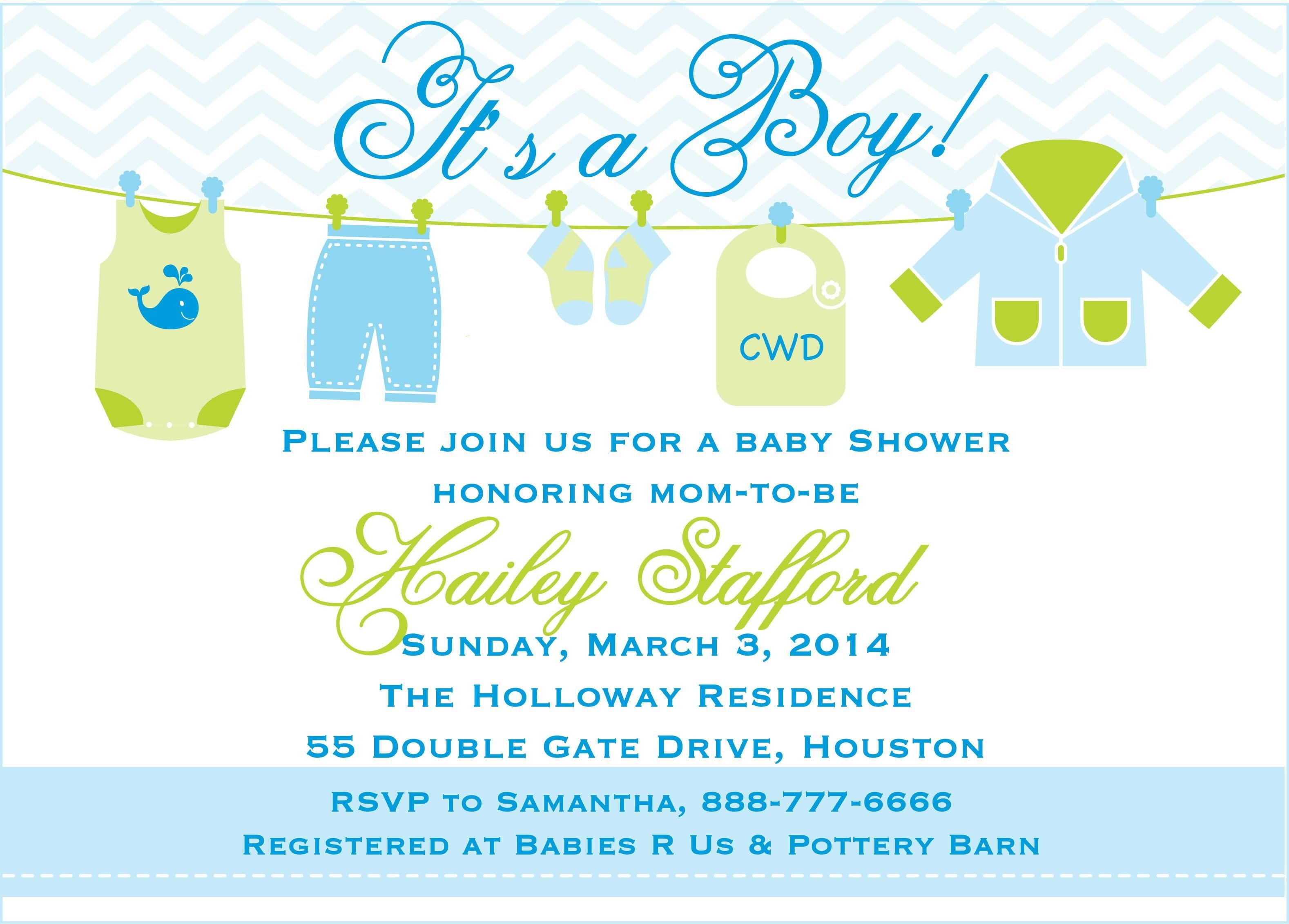 Baby Boy Shower Invitations Templates Free | Baby Shower In 2019 - Free Baby Boy Shower Invitations Printable