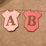 Baby Shower Banner Free Printable. Whole Alphabet Banner Pink Gold   Free Printable Baby Shower Banner Letters