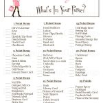 Baby Shower Food Ideas: Baby Shower Ideas Printable Games   Free Printable Baby Shower Games What's In Your Purse