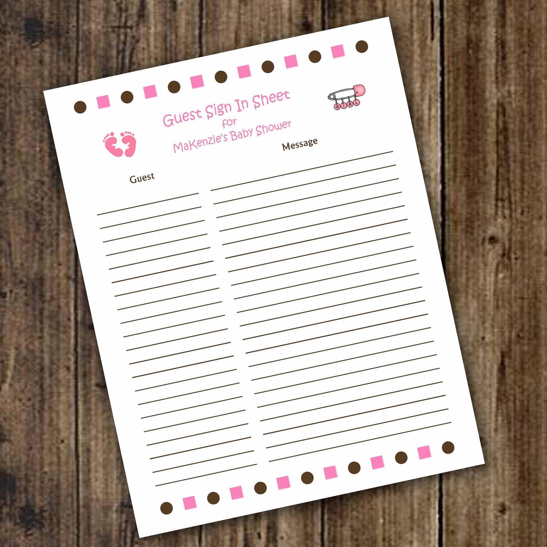 Baby Shower Registry Cards Template Free - Tutlin.psstech.co - Free Printable Registry Cards