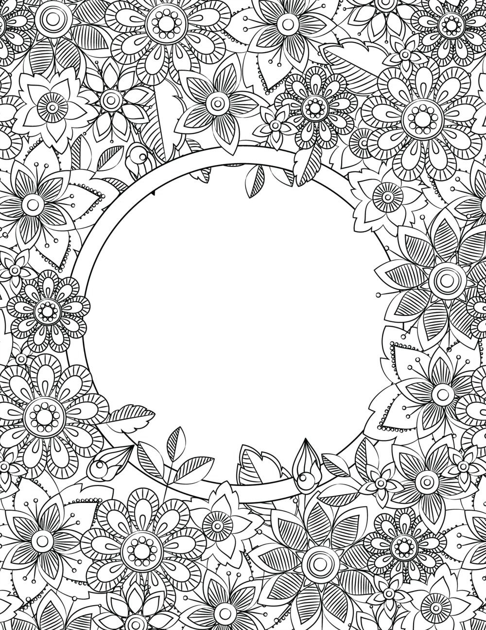 Back To School Binder Cover Adult Coloring Pages | Welcome Back To - Free Printable Binder Covers To Color