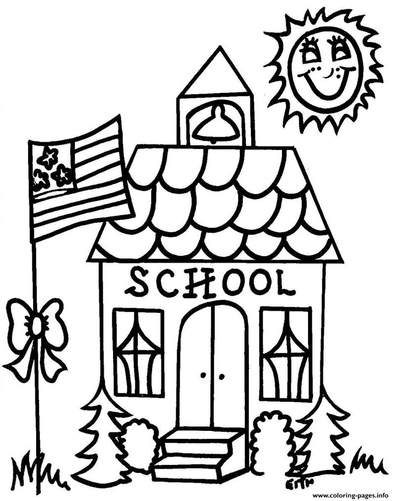 Back To School Coloring Pages Printable - Free Coloring Sheets - Free Printable Coloring Sheets For Back To School