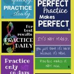 Band Hall Bulletin Board Printables | Brass Band | Music Bulletin   Free Printable Music Posters