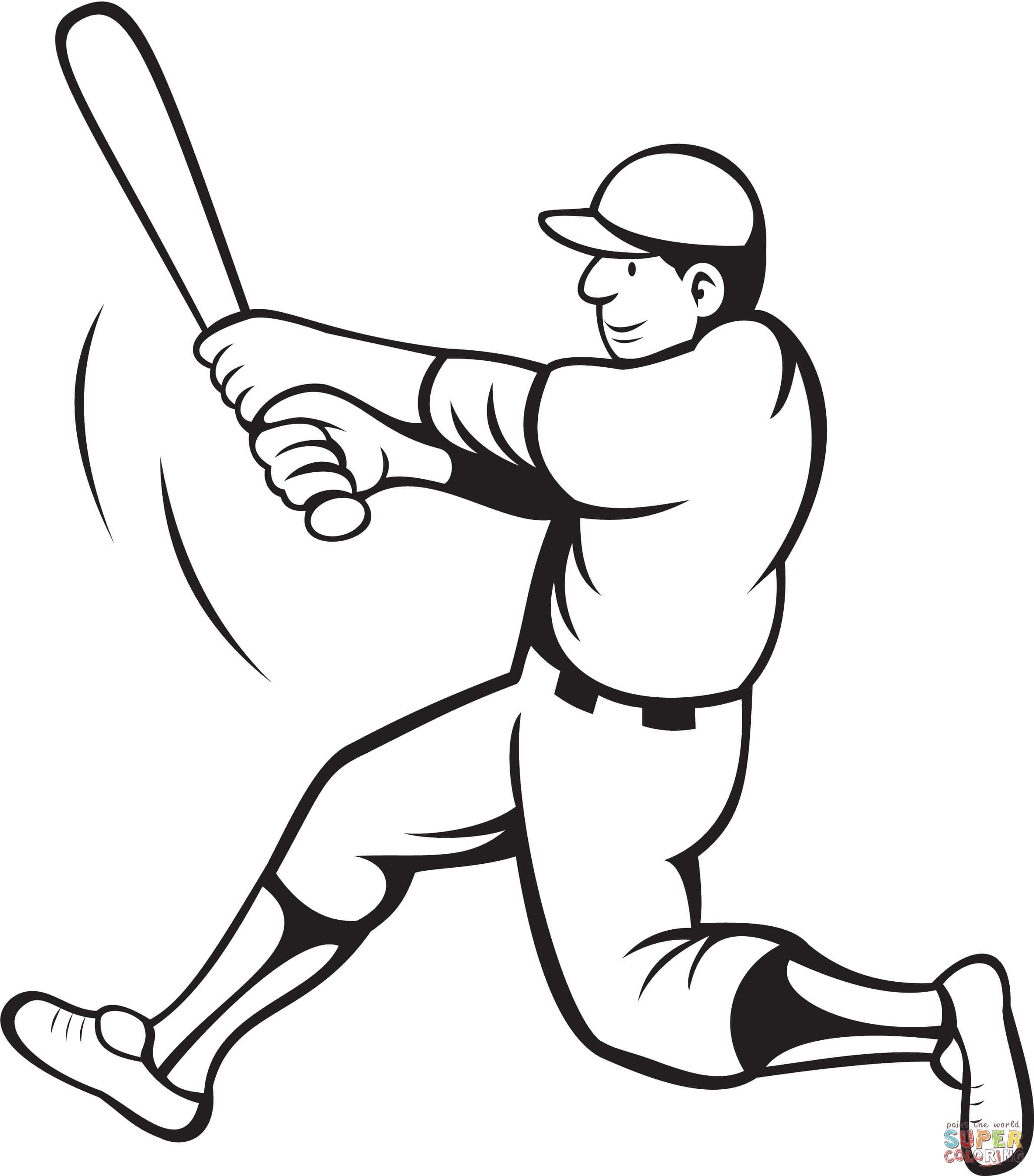Baseball Coloring Pages Free Jackieobinson Page Printable Pdf - Jackie Robinson Free Printables