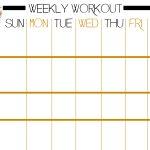 Basic Full Body Workout Plus Free Printable Workout Sheet   Rock And   Free Printable Gym Workout Plans