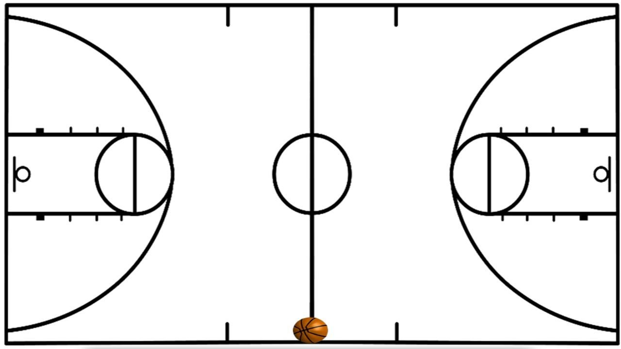 Basketball Court Clipart Free Wallpaper Wallpapers Hd | Basketball - Free Printable Basketball Court
