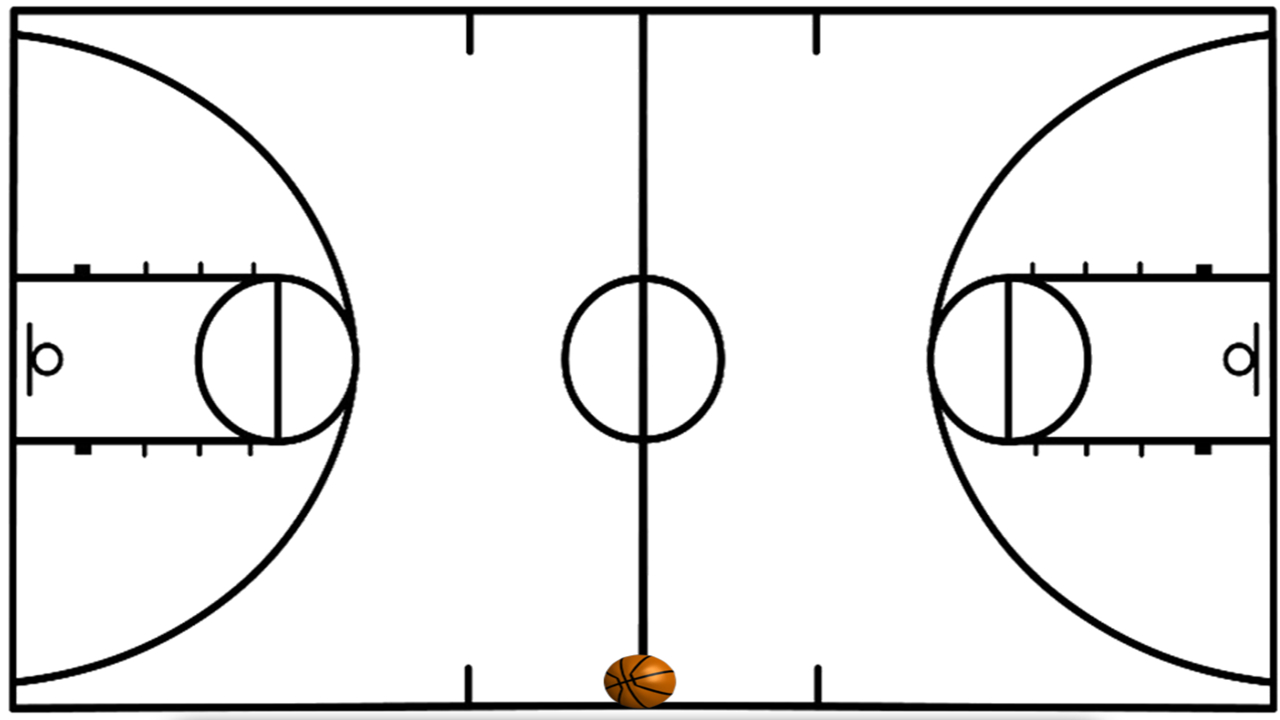 Basketball Court Lines - Google Search   Sports Vbs In 2019 - Free Printable Basketball Court