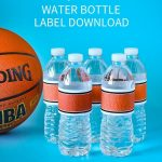 Basketball Water Bottle Labels   That's What {Che} Said   Free Printable Basketball Labels