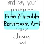 """Bathroom Printable: How Cute Is This Saying!? I Love It. """"wash Your   Free Wash Your Hands Signs Printable"""
