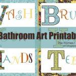 Bathroom Wall Art Printables The Homes I Have Made, Printable Wall   Free Printable Wall Art For Bathroom