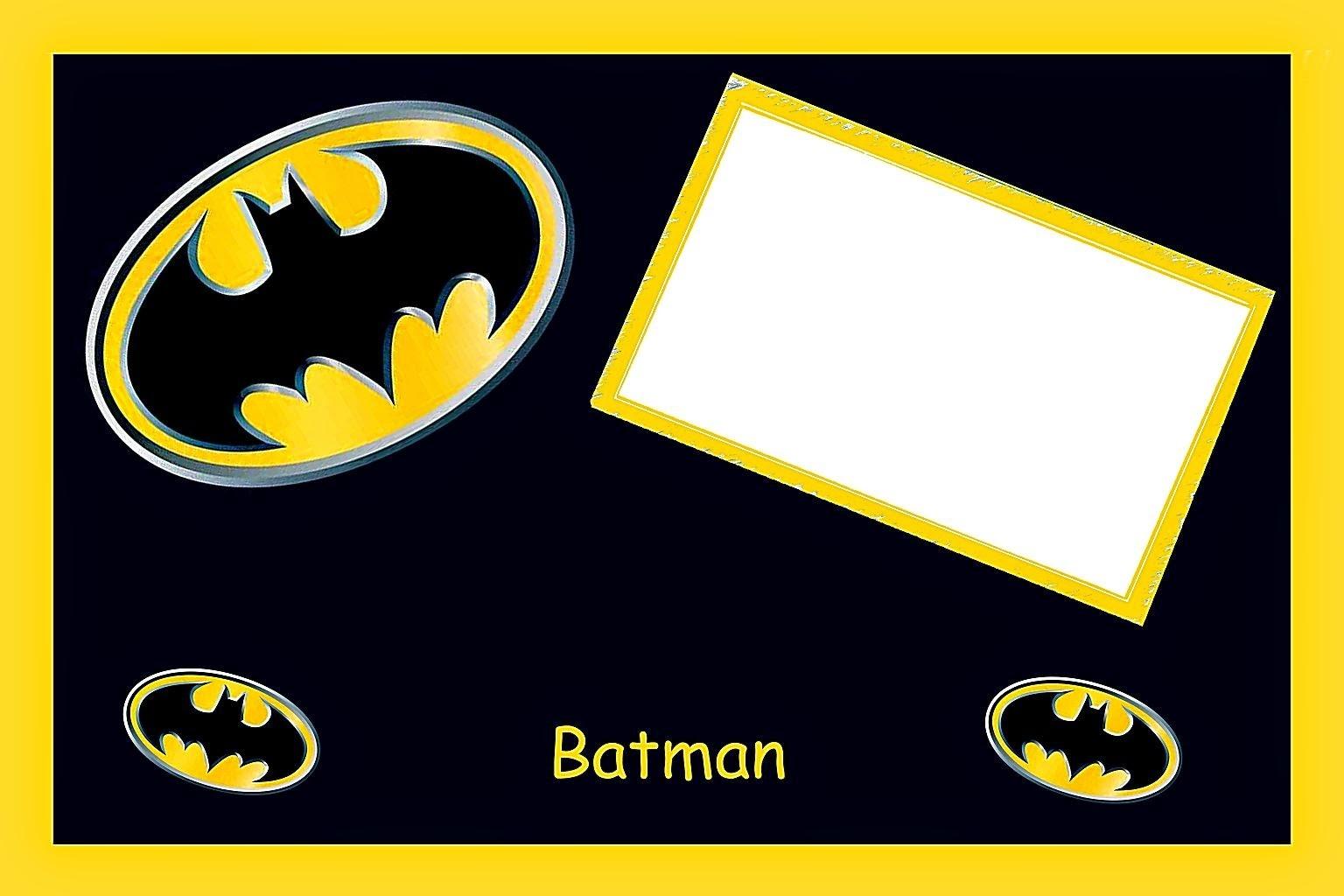 Batman Birthday: Free Printable Cards Or Invitations. - Oh My Fiesta - Free Batman Printables