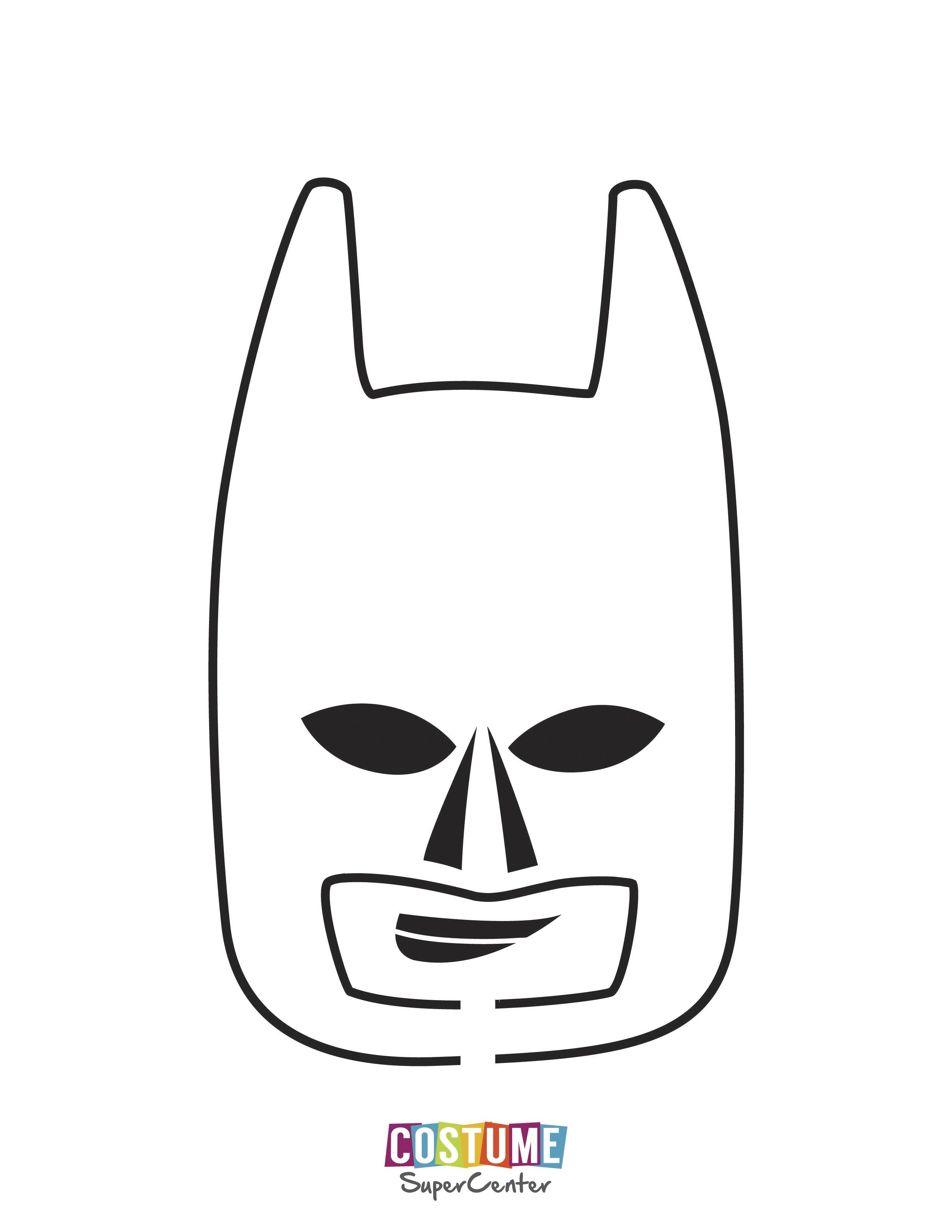Batman Pumpkin Stencil - Honey & Denim - Superhero Pumpkin Stencils Free Printable