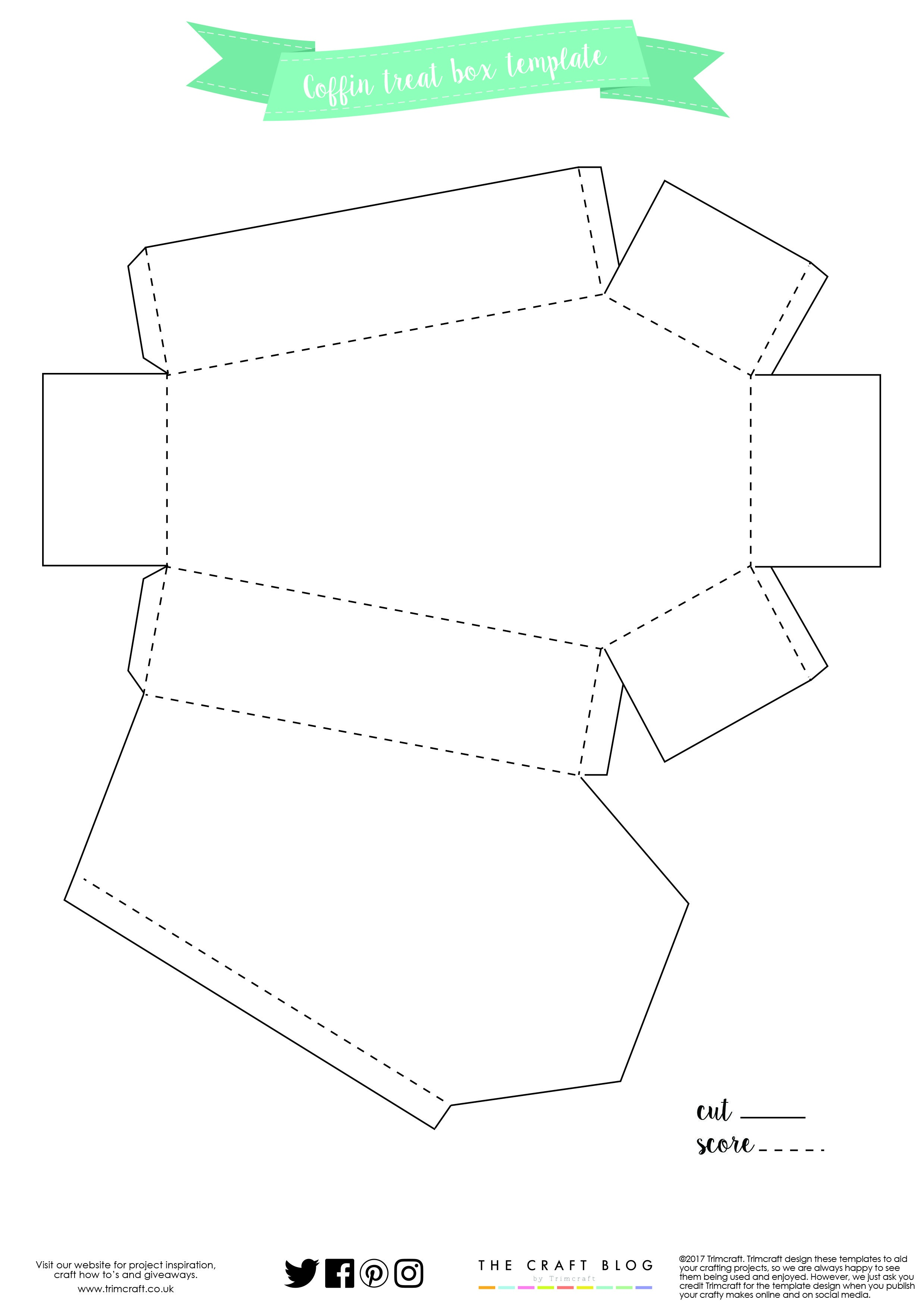 Beaufiful Coffin Template Images Gallery. Coffin. Coffin Box - Free Printable Sarcophagus
