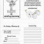 Beautiful Free Memorial Card Template | Best Of Template   Free Printable Memorial Card Template