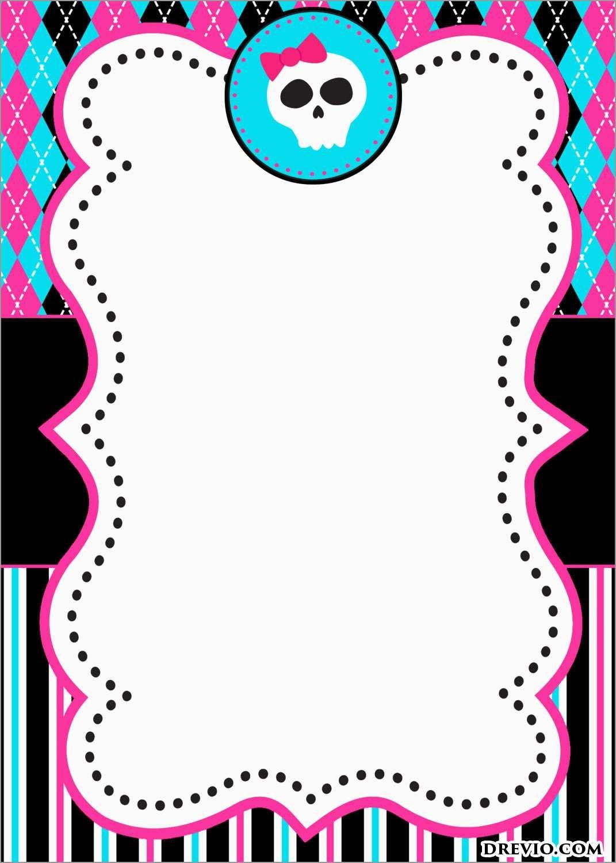 Beautiful Free Monster Invitation Template | Best Of Template - Free Printable Monster Templates