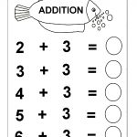 Beginner Addition – 6 Kindergarten Addition Worksheets / Free   Free Printable Math Addition Worksheets For Kindergarten