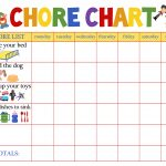 Behaviour Charts For 6 Year Olds | Kiddo Shelter | Printable Reward   Free Printable Chore And Behavior Charts