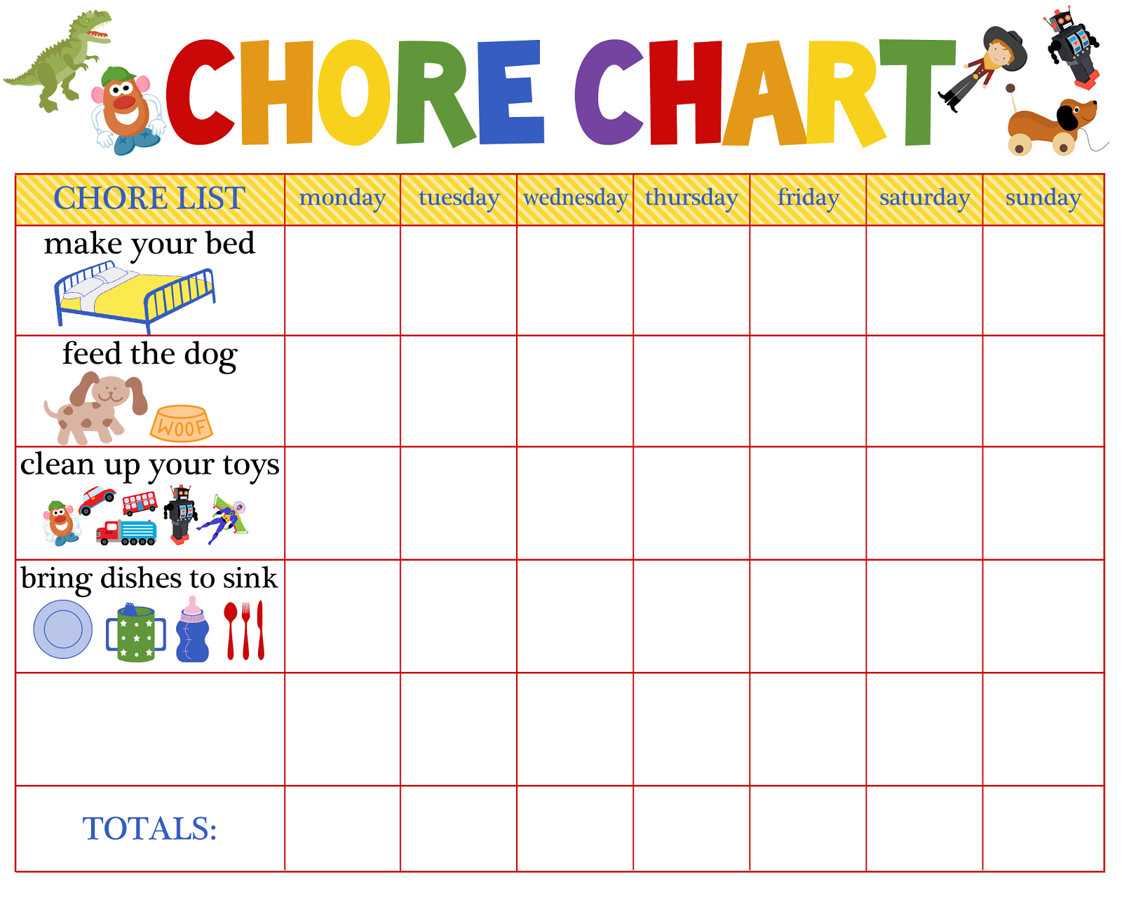Behaviour Charts For 6 Year Olds | Kiddo Shelter | Printable Reward - Free Printable Reward Charts For 2 Year Olds