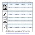 Best Butt Workouts For Women   Free Printable 12 Week Butt Workout Plan   Free Printable Gym Workout Plans