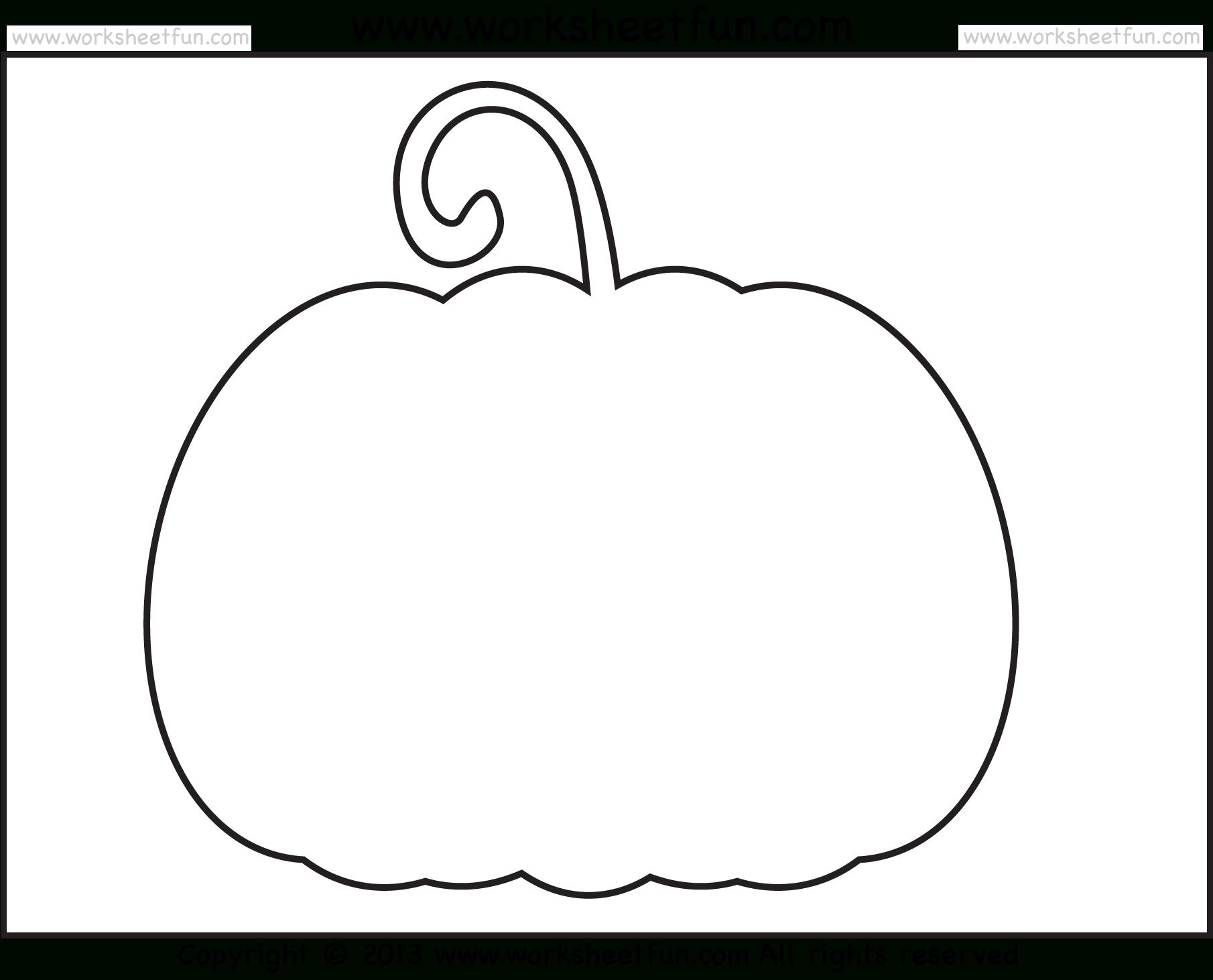 Best Photos Of Pumpkin Cut-Out Templates - Pumpkin Templates - Free Halloween Pumpkin Printables