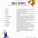 Bible Heroes Quiz – Bible Pathway Adventures   Free Printable Bible Trivia For Adults