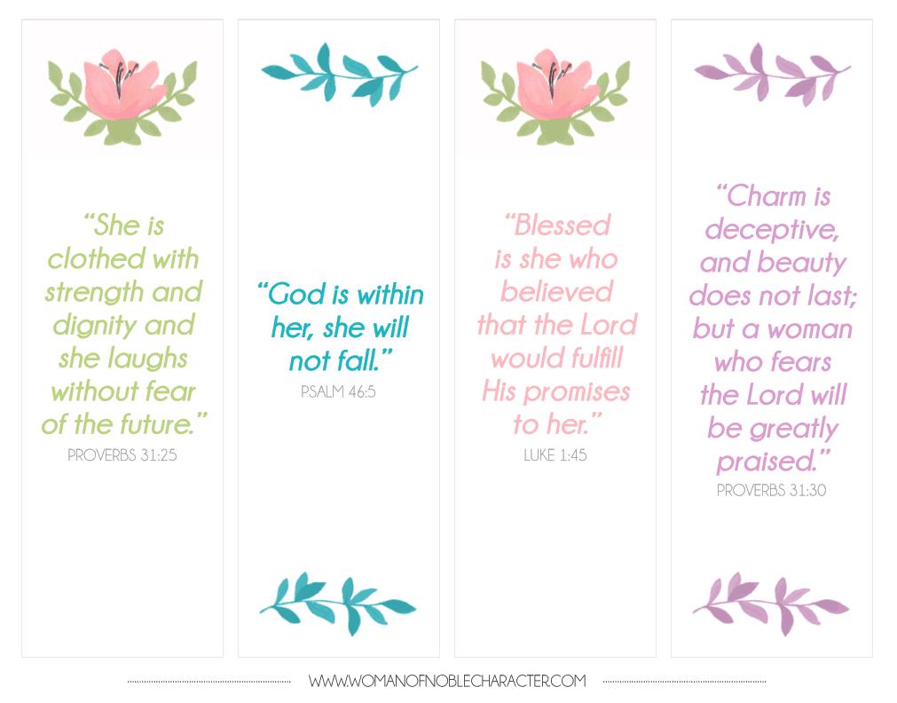 Bible Verse Bookmarks Free Download Free Printable - Free Printable Bookmarks With Bible Verses