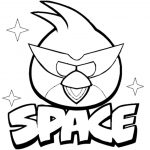 Bird Coloring Pages Angry Birds Space Coloring Pages Coloringstar   Free Printable Angry Birds Space Coloring Pages