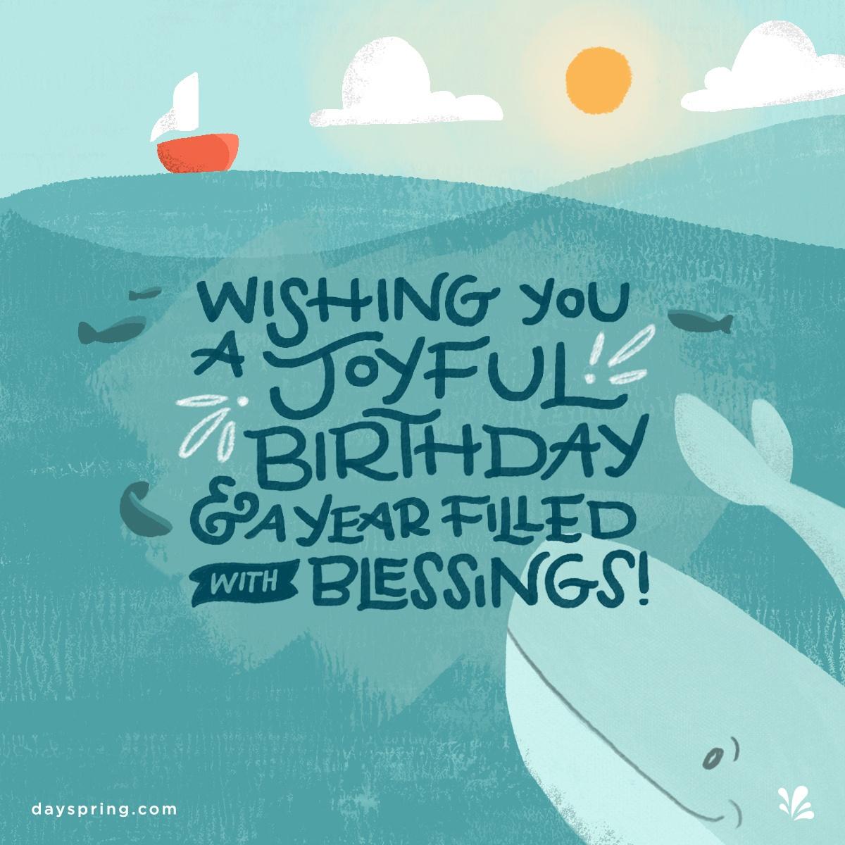 Birthday Ecards   Dayspring - Free Printable Christian Birthday Greeting Cards
