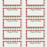 Blank Christmas Labels New Free Printable Editable Christmas T Tags   Free Printable Holiday Labels