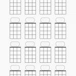 Blank Guitar Chord Chart | Tubidportal   Free Printable Blank Guitar Chord Charts