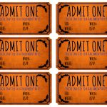 Blank Movie Ticket | Free Download Best Blank Movie Ticket On   Free Printable Admission Ticket Template
