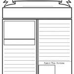 Blank Newspaper Template For Kids Printable | Homework Help   Free Printable Homework Templates