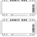 Blank Printable Admit One Invitations Coolest Free Printables   Free Printable Admit One Invitations