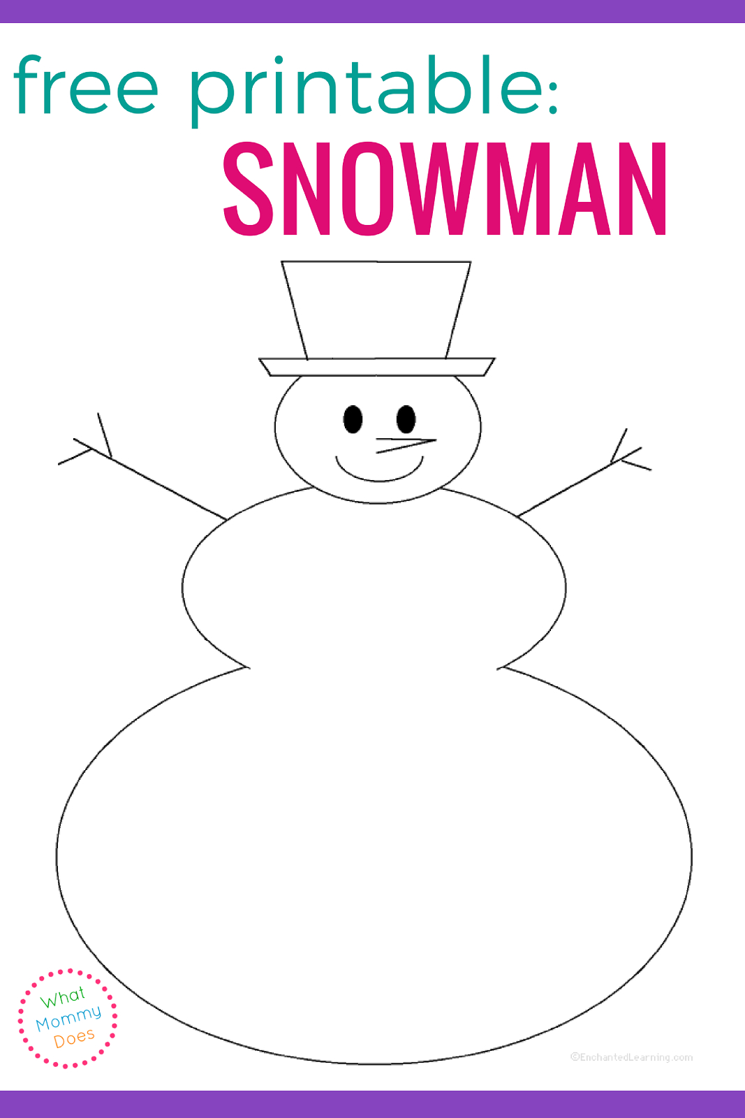 Blank Snowman Templates | Tools | Snowman Faces, Snowman, Face Template - Free Printable Snowman Face Stencils