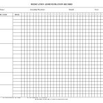 Blank+Medication+Administration+Record+Template | Mrs. Summers   Free Printable Medication Chart