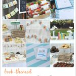 Book Baby Shower (And Free Printables!)   Free Printable Book Themed Baby Shower Invitations