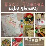 Book Themed Baby Shower !!!   A Girl And A Glue Gun   Free Printable Book Themed Baby Shower Invitations