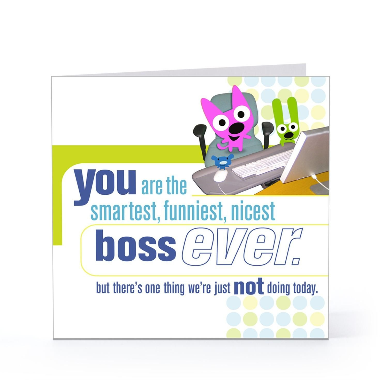 Boss Day Quotes For Facebook | Happy Boss Day Quotes Funny | Boss - Free Printable Funny Boss Day Cards